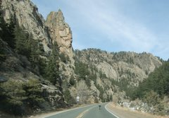 Rock Climbing Photo: It's all quiet again down at the Bust. The canyon ...