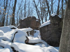 Rock Climbing Photo: Surprise!
