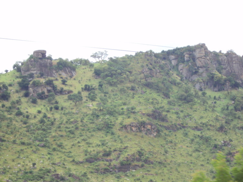 North end of Mount Krobo