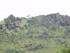 Rock Climbing Photo: North end of Mount Krobo