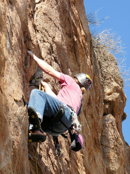 Rock Climbing Photo: Geir goes Brazilian on Solar E-clips :)