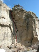 Rock Climbing Photo: Kibbles and Bits.