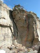 Rock Climbing Photo: Purina Dog Chow.