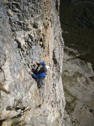 Rock Climbing Photo: Following p5 Pilier Sud