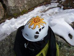 Rock Climbing Photo: new paint