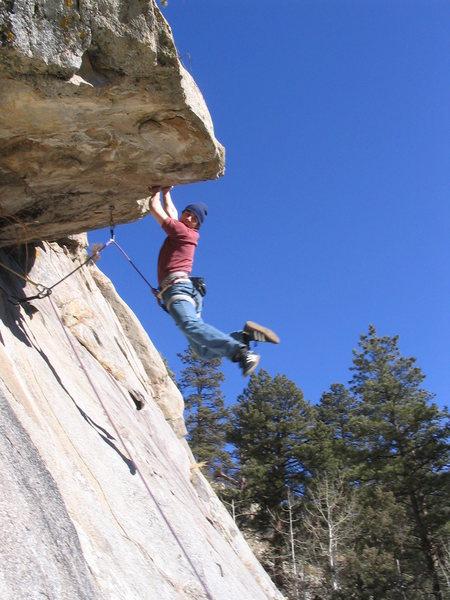 Rock Climbing Photo: Sambas send!