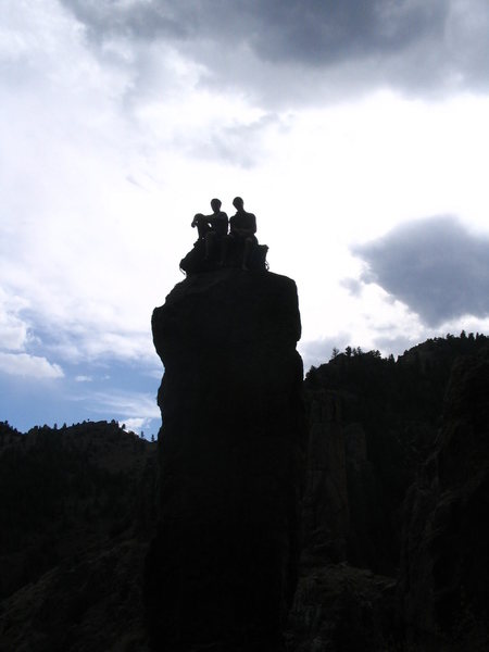 Rock Climbing Photo: Cool summit.