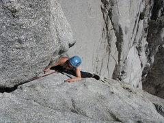 Rock Climbing Photo: easy one