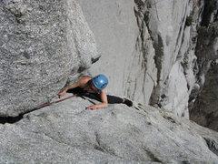 Rock Climbing Photo: easy one
