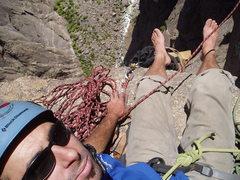 Rock Climbing Photo: Astro Dog.