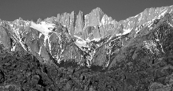 Mt.Whitney.<br> Photo by Blitzo.