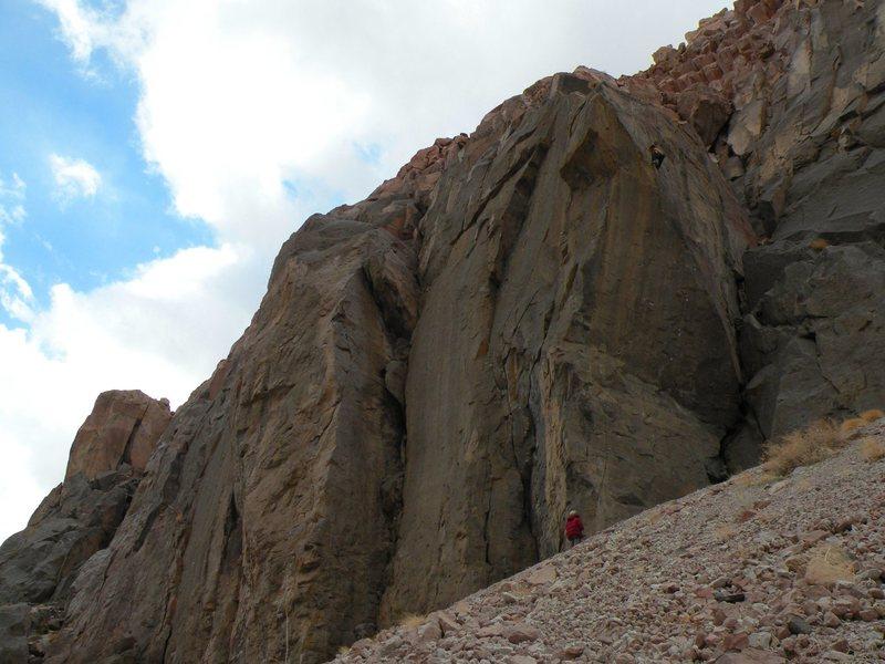 Rock Climbing Photo: Fight Club