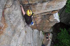 Rock Climbing Photo: Stuart Koonce having fun.
