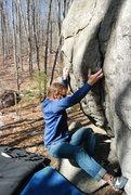 Rock Climbing Photo: Timmy styling it.