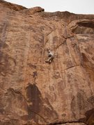 Rock Climbing Photo: Buster Hymen 5.11 at Thunder