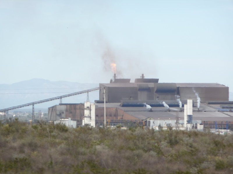 Rock Climbing Photo: Power Plant In Mexico