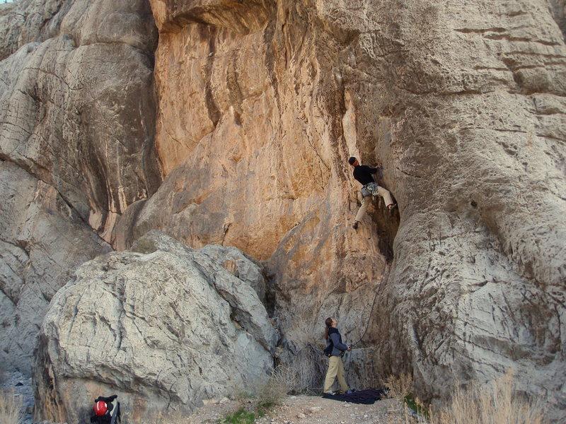 Rock Climbing Photo: Jeremy Steck on Czech Frogs Say Qua.