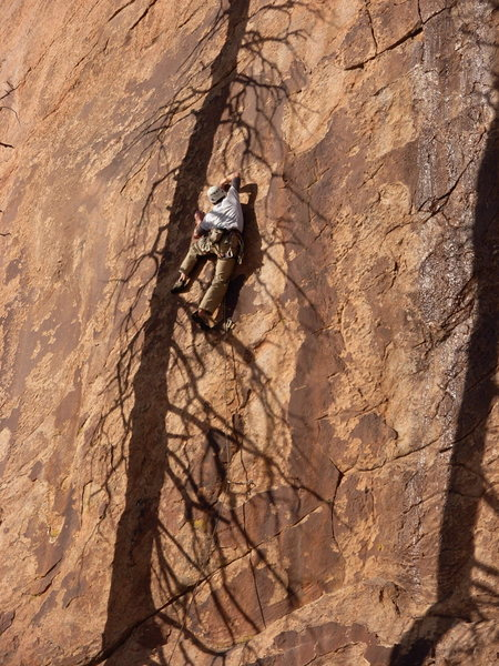 Rock Climbing Photo: Why do they call it Shadow? - photo by Kevin McLau...