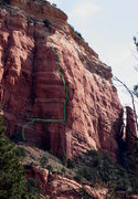 Rock Climbing Photo: As seen from the parking area (described in Weeken...