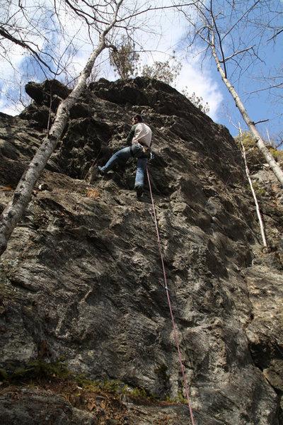 jakob climbing rainbow