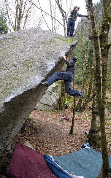 Rock Climbing Photo: Second ascent  Photo: Scott Pick