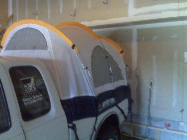Rock Climbing Photo: Truck Tent