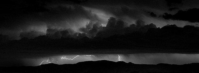 Rock Climbing Photo: Lightning. Photo by Blitzo.