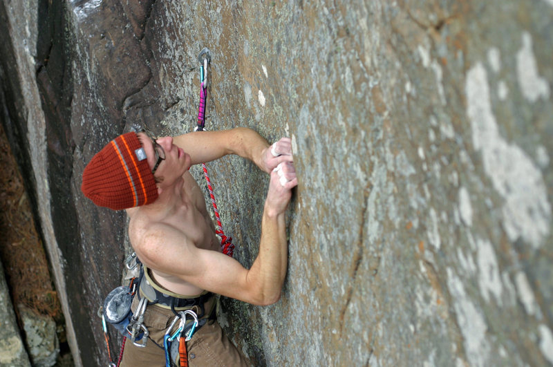"Rock Climbing Photo: Cave Creek, ""Enery Crisis"", 5.11c"