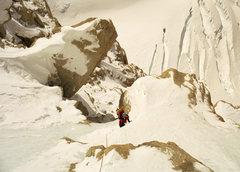 Rock Climbing Photo: Go big or go home!