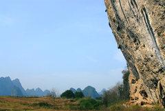 Rock Climbing Photo: 王清华 on China Climb, 2010.2