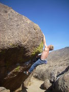 Rock Climbing Photo: The Dyno on Jita Dyno: Better if done as part of H...