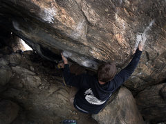 "Rock Climbing Photo: Jason Baker on ""Stanley Kubrick (V11)."" ..."