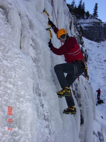 Provo Canyon Stairway Apron goofing around
