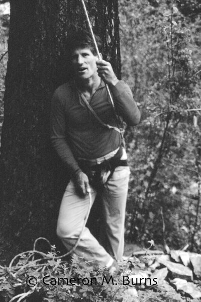 The late Galen Rowell at Kootenai Canyon.