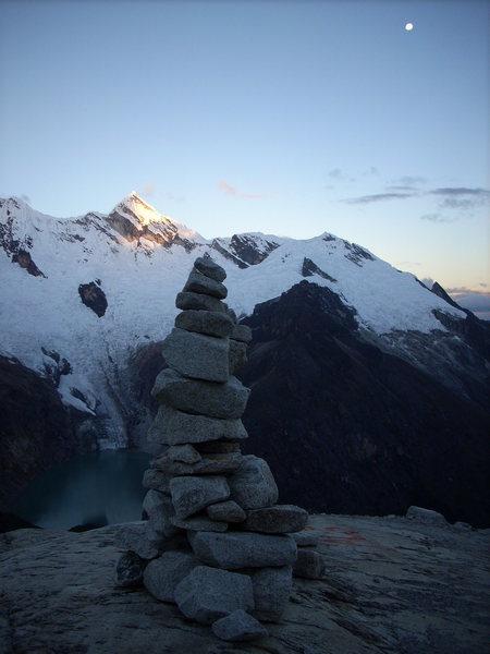 Rock Climbing Photo: Peru Cairn