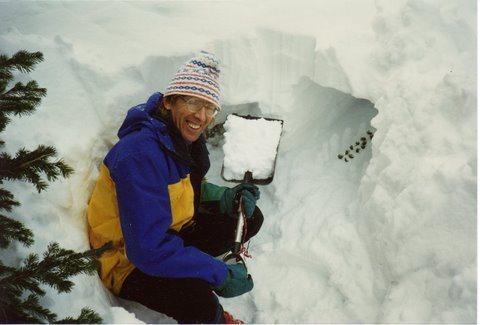 Rock Climbing Photo: Indian Peaks Wilderness - ca. 1998.