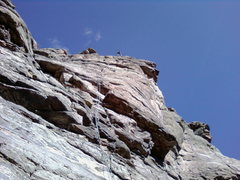 Rock Climbing Photo: twin ropes on peer review tall route that is alot ...