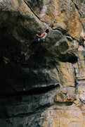 Rock Climbing Photo: one of twin gate tower