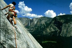 Rock Climbing Photo: Yosemite.