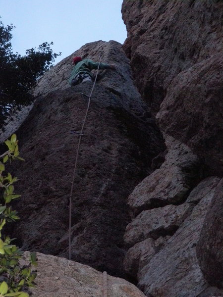 Rock Climbing Photo: Eric Berghorn on Cereal Killer