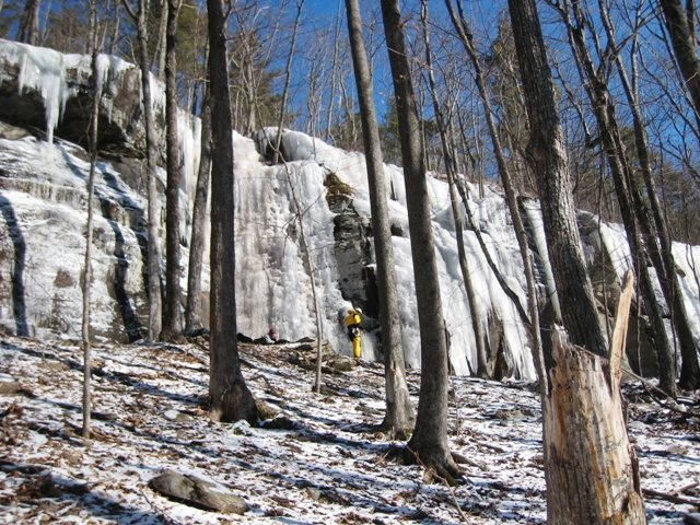 Rock Climbing Photo: Asbestos Wall right side