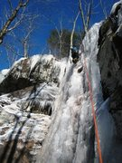 Rock Climbing Photo: Fun on a cold winter day.  Asbestos Wall right sid...