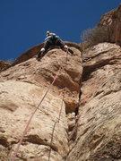 "Rock Climbing Photo: The fun finish of ""Part Muffalo""."