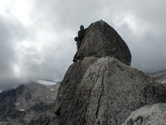 Rock Climbing Photo: knot route