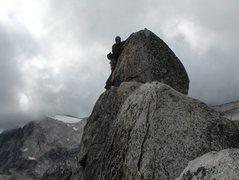 Rock Climbing Photo: knot route