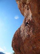 Rock Climbing Photo: Bottom section of Choad Warrior