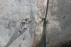 Rock Climbing Photo: Wes Warwick 3-13-10