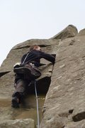 Rock Climbing Photo: Peel Crag; Hadrian's Wall, England