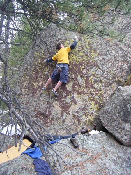Rock Climbing Photo: Awesome problem.