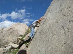 Rock Climbing Photo: Nathan Fizthugh.  3-13-10
